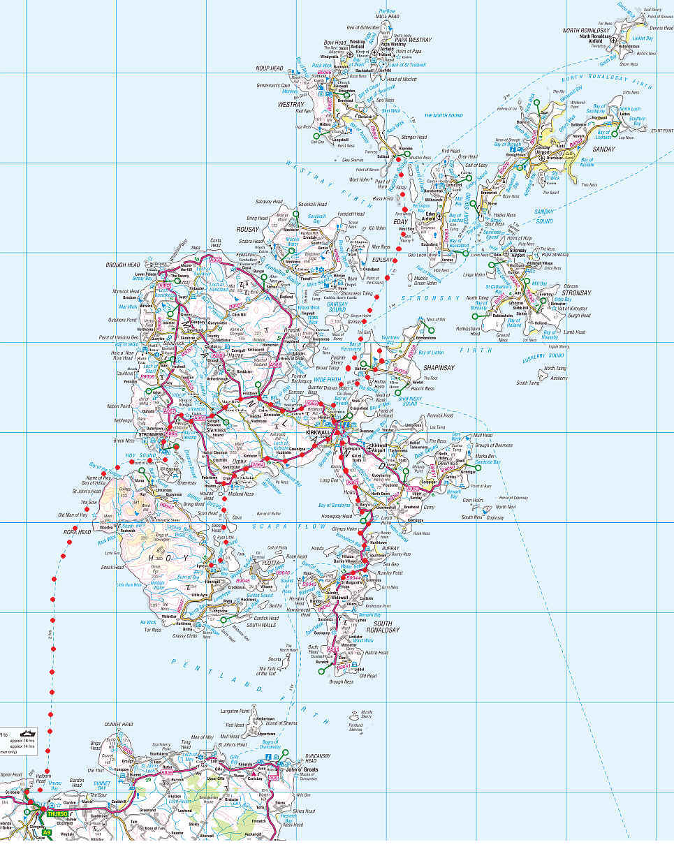Journey to the Orkney Islands